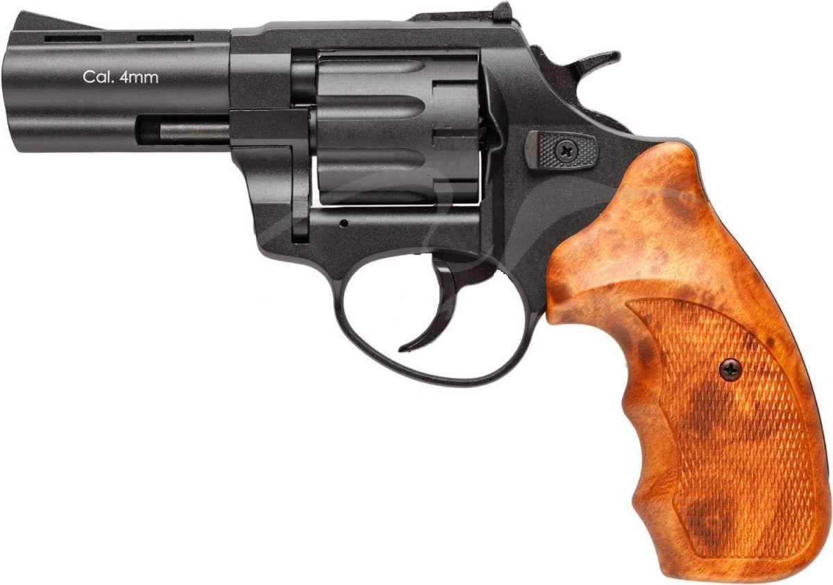 Револьвер флобера STALKER S 3 рукоять коричневый пластик