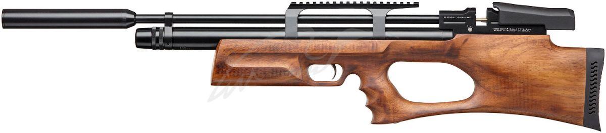 Винтовка пневматическая Kral Puncher Breaker PCP Wood с глушителем