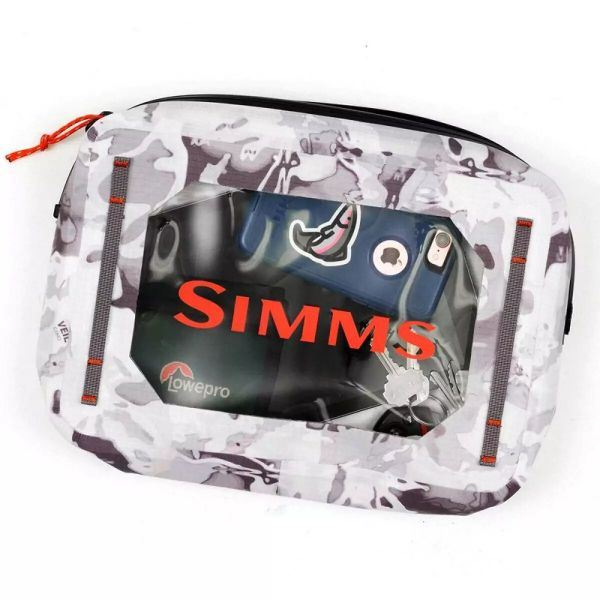 Сумка Simms Dry Creek Gear Pouch Cloud Camo Grey