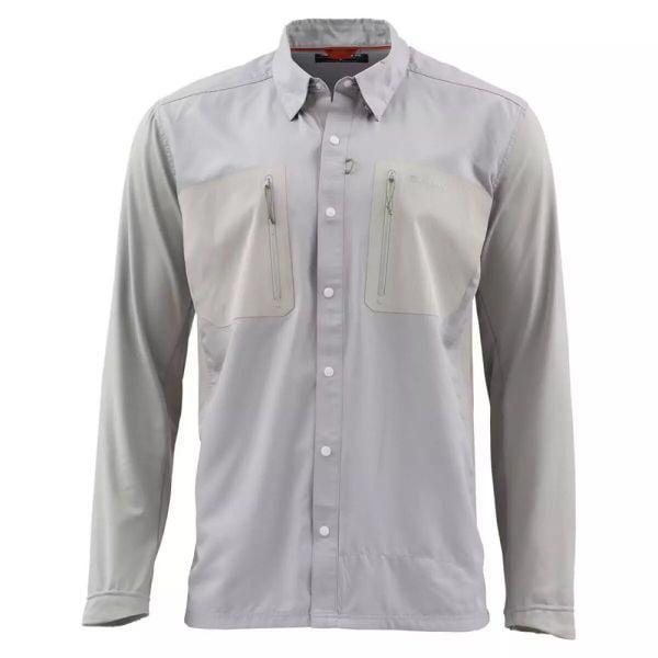 Рубашка Simms Tricomp Cool Granite