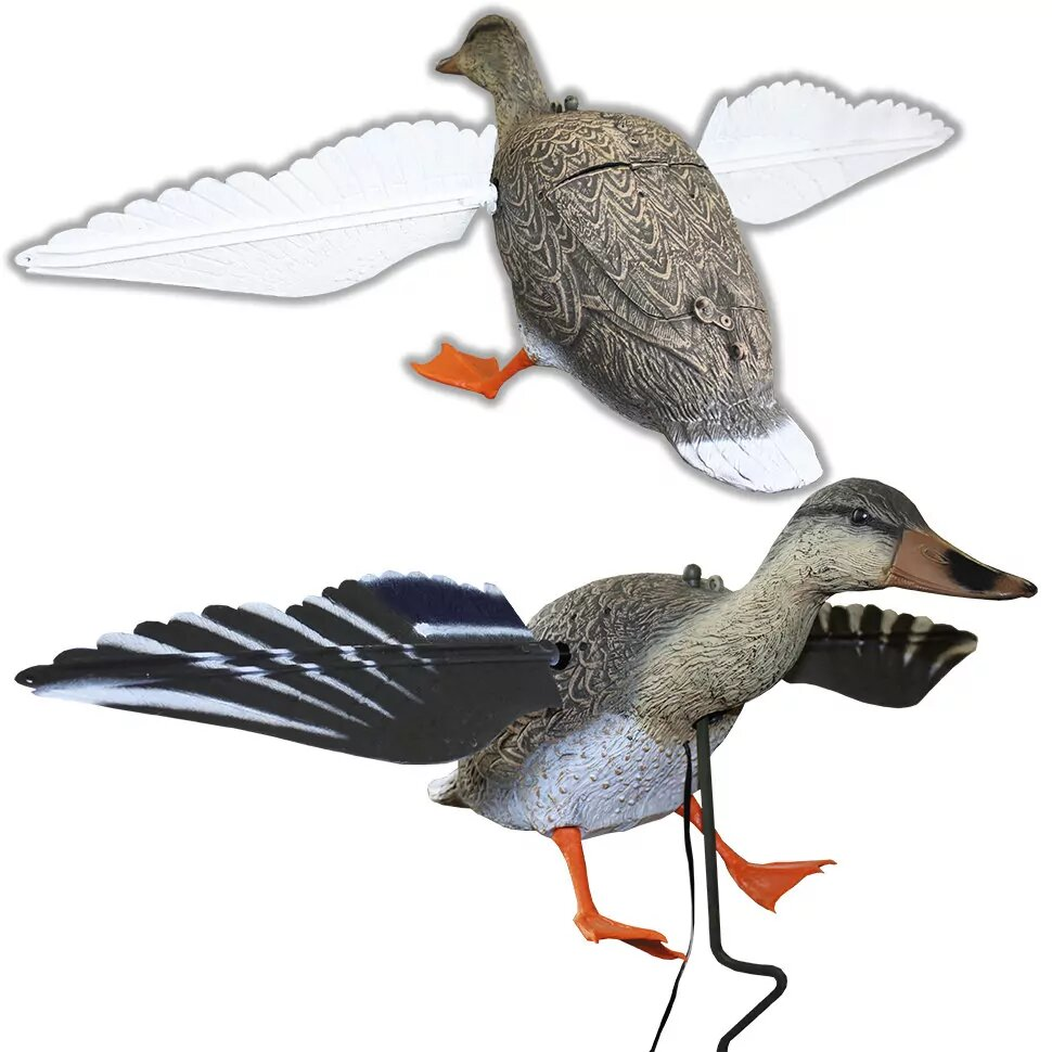 Чучела кряквы Sport Plast машущие крыльями на батарейках