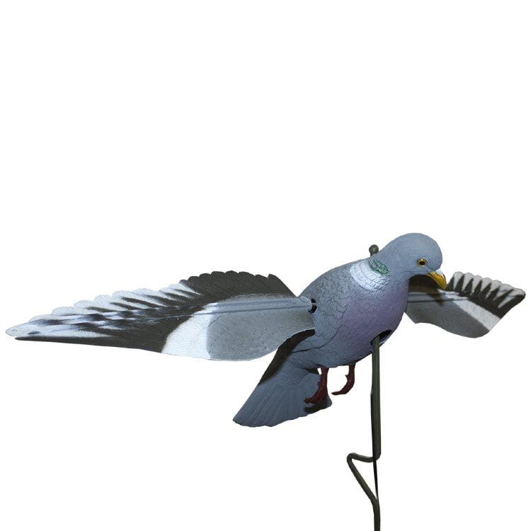 Чучела голубя Sport Plast машущее крыльями на батарейках