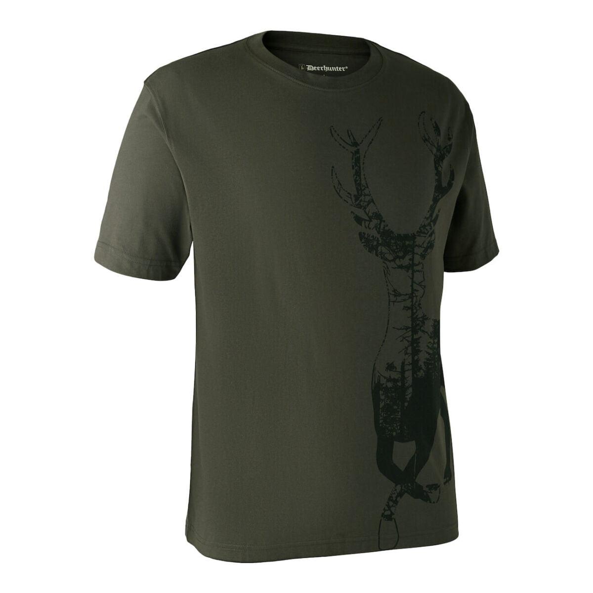 Футболка Deerhunter с рисунком оленя