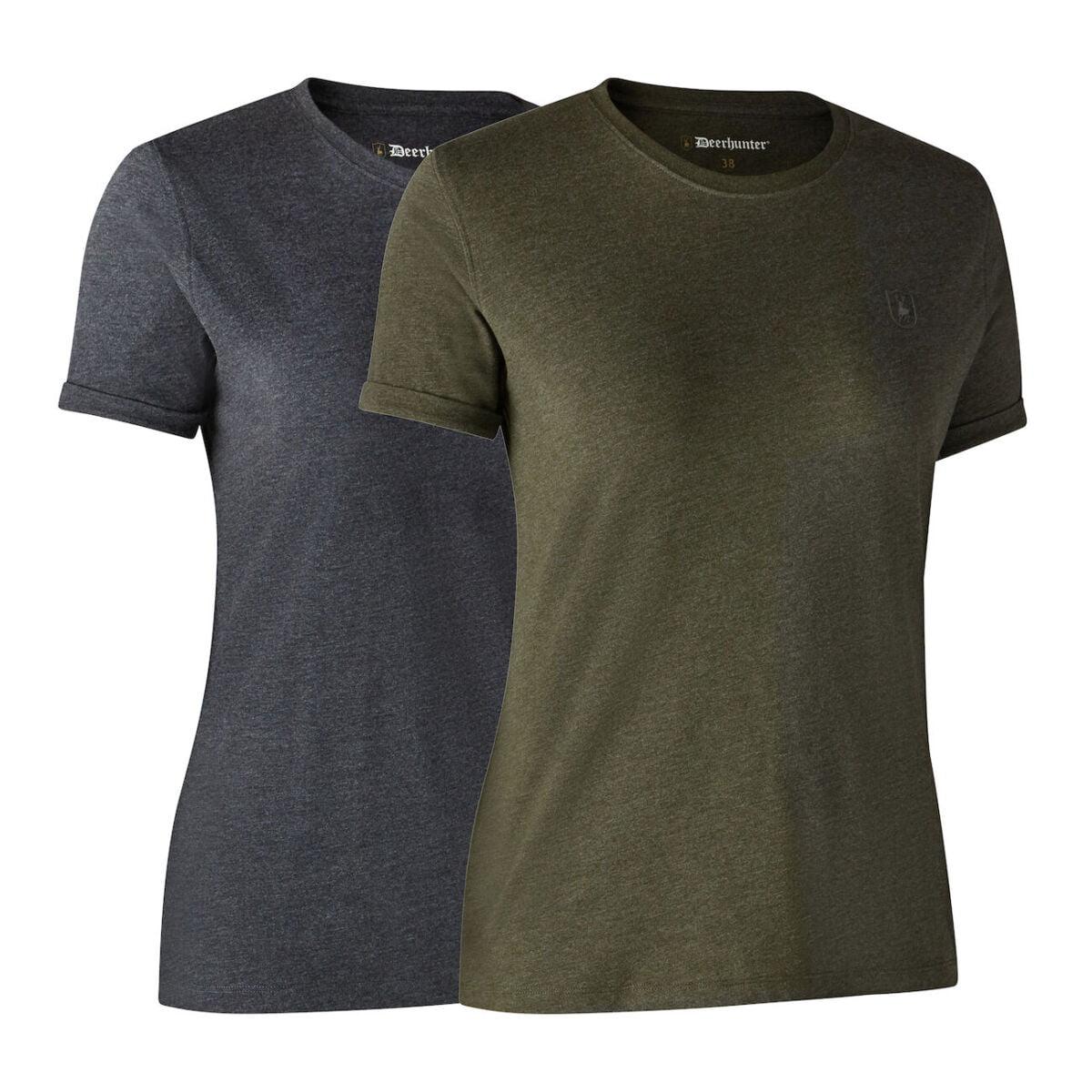 Женские футболки Deerhunter Basic набор 2 шт.