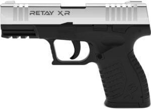 Пистолет стартовый  Retay XR кал. 9 мм. Цвет – nickel.