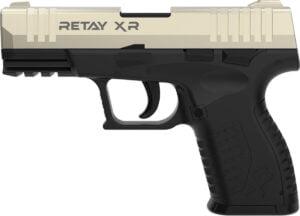 Пистолет стартовый  Retay XR кал. 9 мм. Цвет – satin.