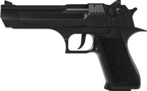 Пистолет стартовый Retay Eagle X кал. 9 мм. Цвет – black.