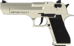 Пистолет стартовый Retay Eagle X кал. 9 мм. Цвет – satin.
