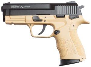 Пистолет стартовый Retay XTreme кал. 9 мм. Цвет – sand.