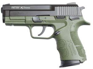 Пистолет стартовый Retay XTreme кал. 9 мм. Цвет – olive.