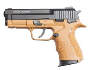 Пистолет стартовый Retay XTreme кал. 9 мм. Цвет – tan.