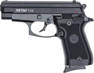 Пистолет стартовый Retay F29 кал. 9 мм. Цвет – Black