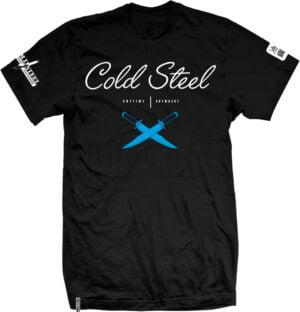 Футболка Cold Steel Cross Guard T-Shirt. Размер – XL. Цвет – черный