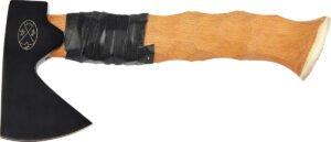 Топор Karesuandokniven Forest Axe set. Цвет – черный