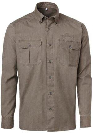 Рубашка Chevalier Kenya Safari M цвет: brown