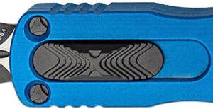 Нож Microtech Dirac DE Black Blade. Цвет: blue