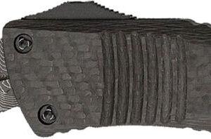 Нож Microtech Combat Troodon Doble Edge Damascus Signature Series, сталь – дамаск, рукоять – алюминий/улеродное волокно, клипса, длина общая – 231 мм, длина клинка –  95мм.