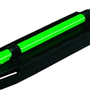 Мушка Hiviz M400 оптиковолоконная, с магнитной базой, для гладкоствольного оружия, на прицельную планку 8,3-11,1мм. для Winchester, Brawning, K-80, Beretta. В комплекте 4-ре. доп. вставки 2 красн. 2 зелен.