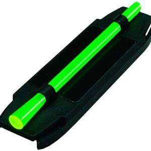 Мушка Hiviz M500 оптиковолоконная, с магнитной базой, для гладкоствольного оружия, на прицельную планку 11,1-14,6мм. для спортивных ружей Brawning, K-80, Beretta. В комплекте 4-ре. доп. вставки 2 красн. 2 зелен.