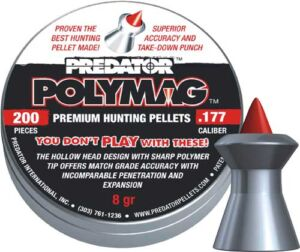Пули пневматические JSB Diabolo Polymag. Кал. 5.5 мм. Вес – 1.03 г. 200 шт/уп