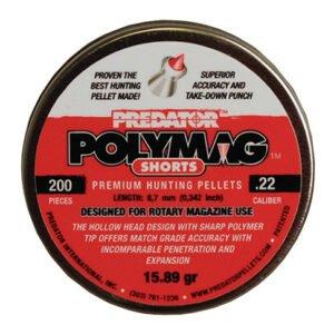 Пули пневматические JSB Polymag Shorts. Кал. 5.5 мм. Вес – 1.03 г. 200 шт/уп