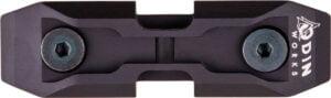 Низкопрофильный адаптер для сошек ODIN K-Pod на базу крепления KeyMod Цвет – Черный