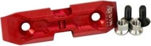 Низкопрофильный адаптер для сошек ODIN K-Pod на базу крепления KeyMod Цвет – Красный