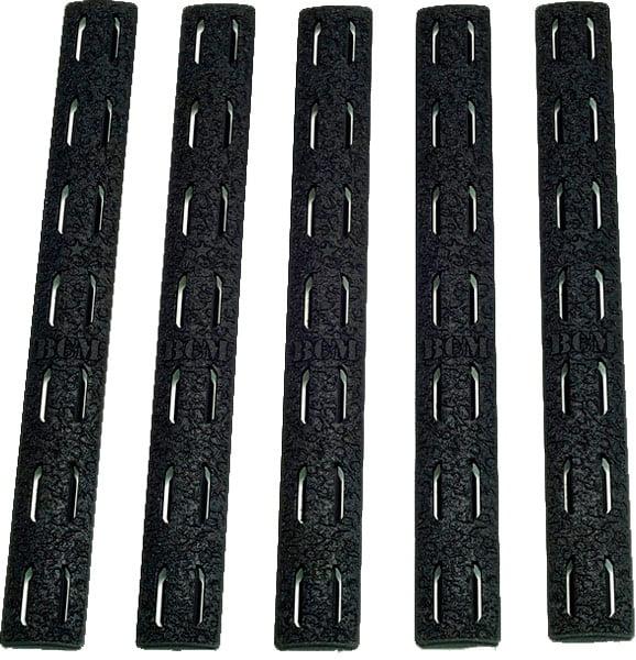 Накладка BCM защитная 5.5'' на цевье KeyMod (5 шт. в уп.) цвет: черный