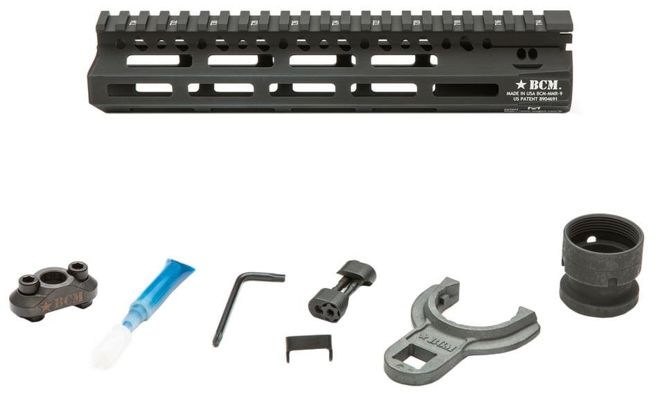Цевье BCM MCMR-9 (M-LOK Compatible Modular Rail) Black