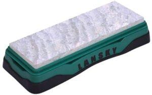 Точило Lansky Soft Arkansas Benchstone, 15,2 х 5,8 см, нескользящая подставка
