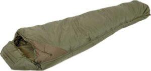 Спальник Snugpak Tactical 3 цвет:olive, диапазон температур – Комфорт: -7°c Extreme: -12°c, вес – 1,7 кг., длина – 220 см., макс. ширина – 85,2 см. Молния слева