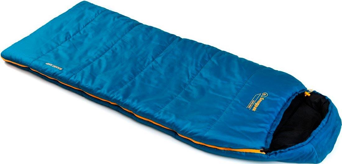 Спальный мешок Snugpak Basecamp Explorer детский; ц: синий. Весна-лето.