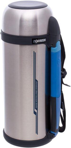 Термос ZOJIRUSHI SF-CС18XA 1.8 л (складная ручка+ремешок) ц:стальной