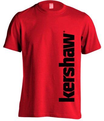 Футболка KAI Kershaw. Размер – L. Цвет – красный