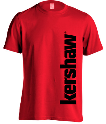 Футболка KAI Kershaw. Размер – XXL. Цвет – красный