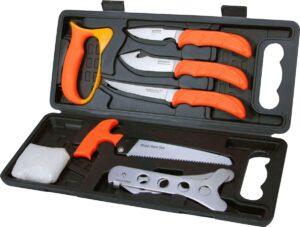 Набор ножей Outdoor Edge Wild-Pack, текст упаковки ENG+FR