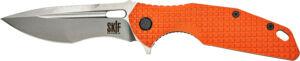 Нож SKIF Defender II SW Orange, сталь – 9Cr18MoV, рукоятка – G10, общая длина – 224 мм, длина клинка – 97 мм