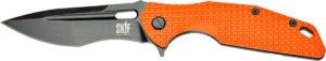 Нож SKIF Defender II BSW Orange, сталь – 9Cr18MoV, рукоятка – G10, общая длина – 224 мм, длина клинка – 97 мм