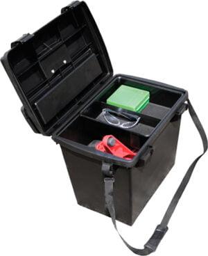 Коробка универсальная MTM Sportsmen's Plus Utility Dry Box с плечевым ремнем. Цвет – черный