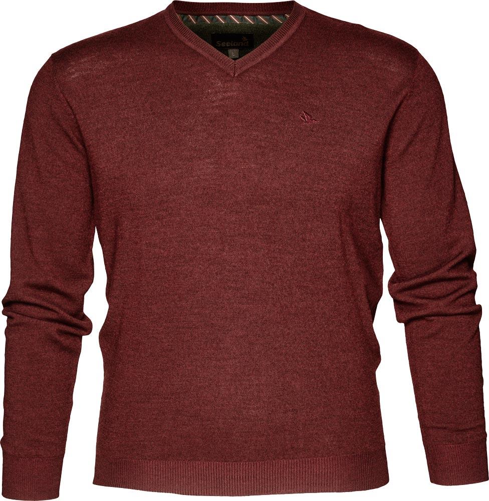 Пуловер Seeland Compton. Размер – 2XL. Цвет – светло-коричневый