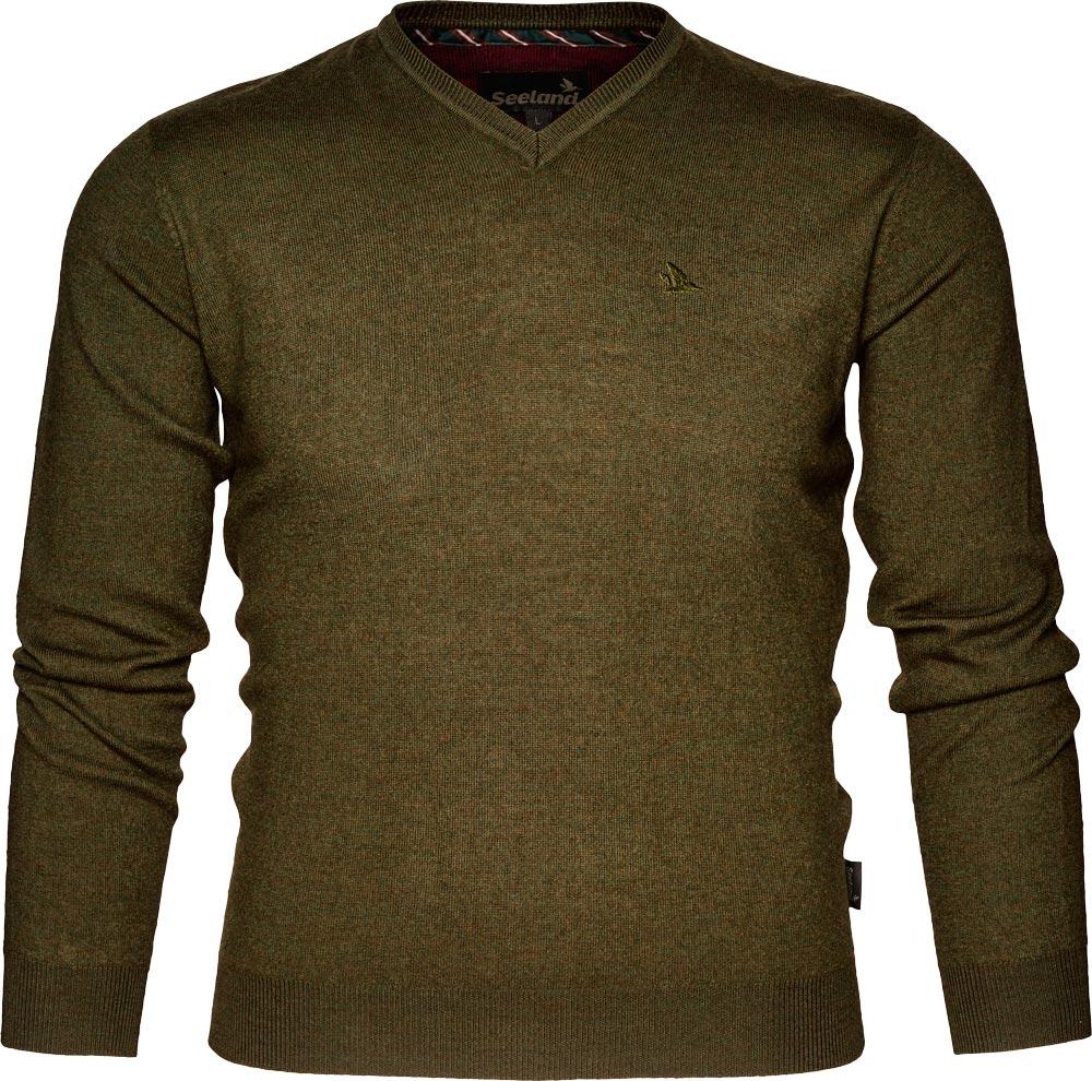 Пуловер Seeland Compton. Размер – 2XL. Цвет – зеленый