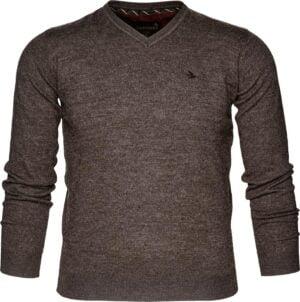 Пуловер Seeland Compton. Размер – L. Цвет – коричневый