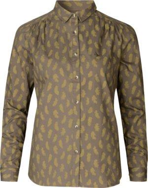 Блуза Seeland Skeet lady. Размер – L. Цвет – оливковый