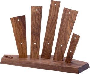 Подставка для ножей Due Cigni Vela Five. Цвет – ясень