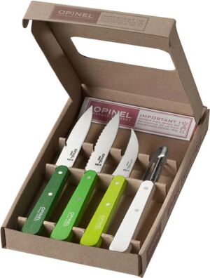 Набор ножей Opinel Les Essentiels Primavera
