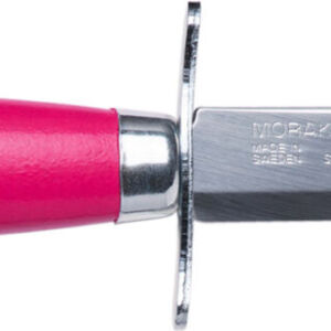 Нож Morakniv Scout 39 Safe. Цвет – красный, сталь – Sandvik 12C27, рукоятка – береза, обычная режущая кромка, кожаные ножны, длина клинка – 85 мм, длина общая – 178 мм.