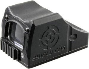 Прицел коллиматорный Shield CQS 4 MOA, металлический корпус, крышка, с батареей