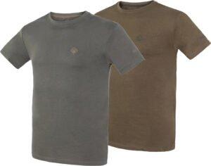 Комплект футболок Hallyard Jonas. Размер 3XL. Зеленый/серый