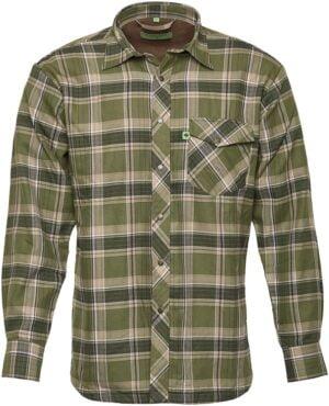 Рубашка Hallyard Lopes. Размер L. Зеленый