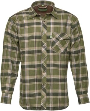 Рубашка Hallyard Lopes. Размер XL. Зеленый